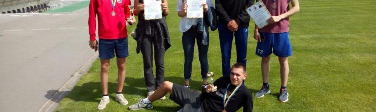 Pмагання з легкої атлетики присвячені пам'яті почесного громадянина м. Горішні Плавні В.П. Мартиненка